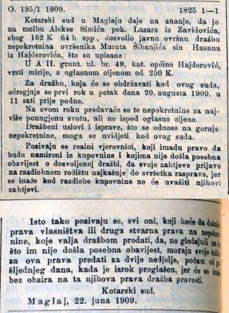 Sibonjic Murat Hasanov SL 7 7 1909